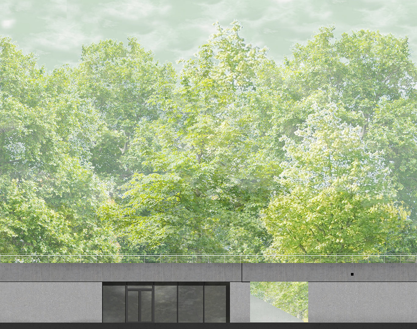 Belvedere LGS, Würzburg, Visualisierung | Sauerzapfe Architekten
