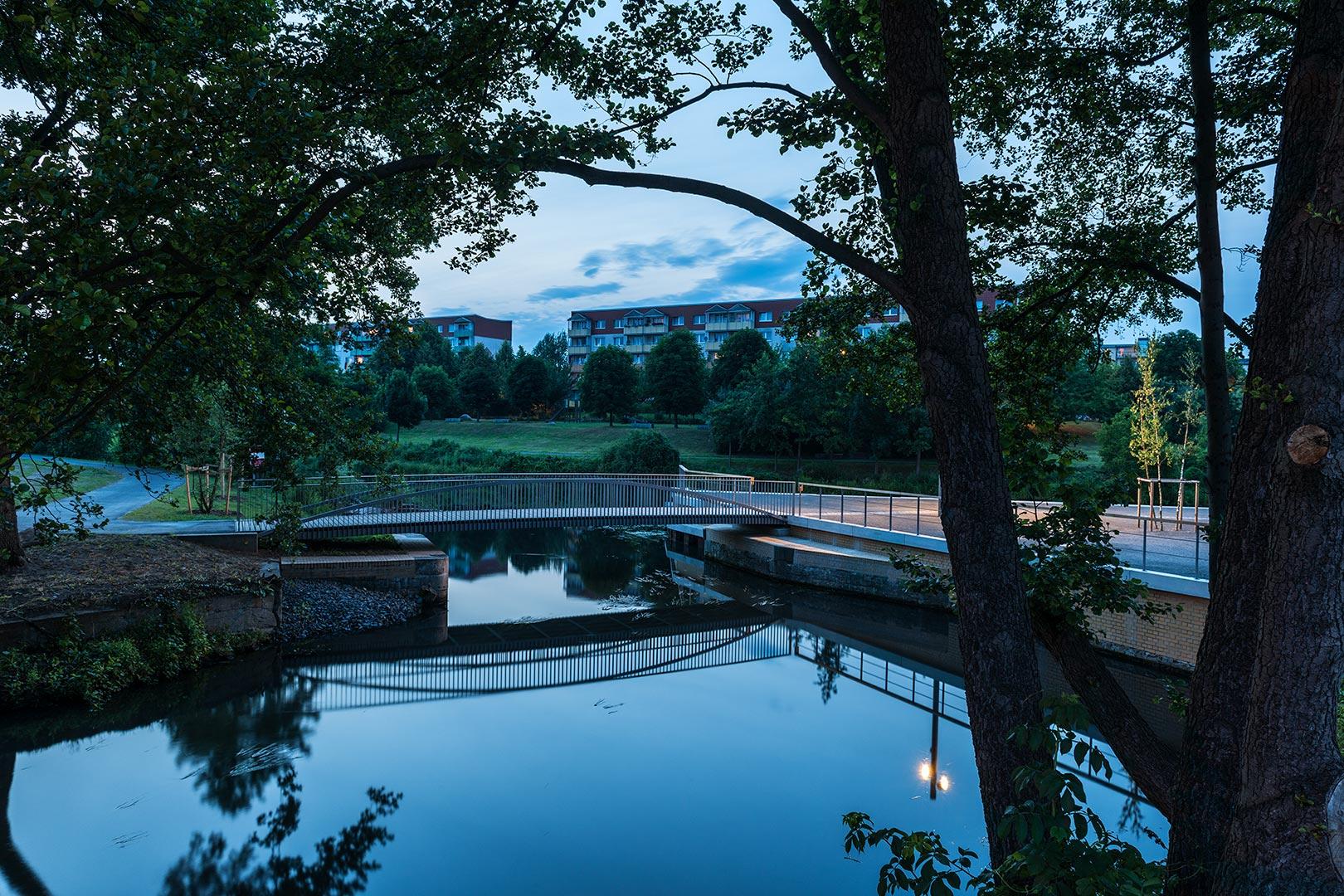 Brücke über die Schwärze, Eberswalde | Sauerzapfe Architekten