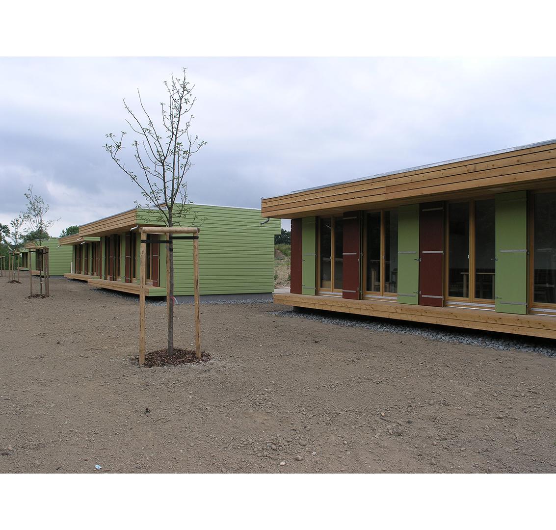 Europäisches Jugendcamp, Oschatz, Bau | Sauerzapfe Architekten