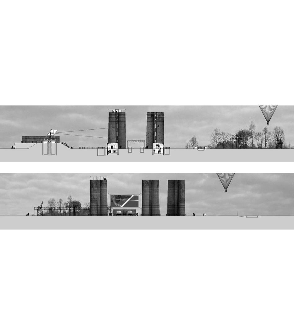 IBA SEE Biotürme, Lauchhammer | Sauerzapfe Architekten
