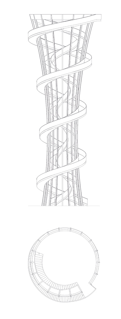 Kienbergturm IGA, Berlin | Sauerzapfe Architekten