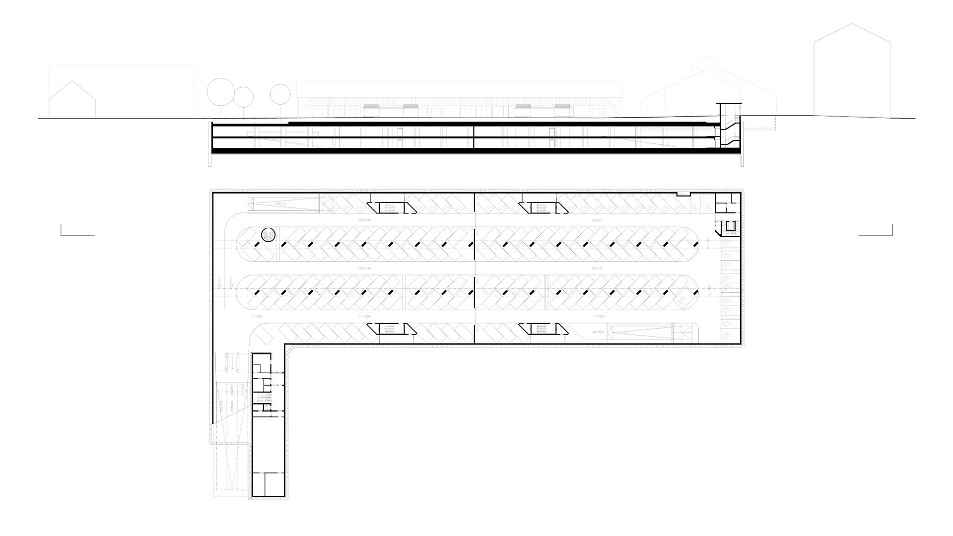 Kulturquartier Lagarde, Tiefgarage, Bamberg | Sauerzapfe Architekten