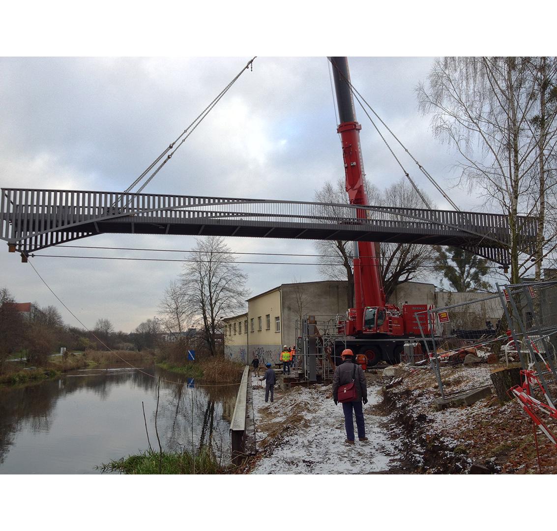 Leibnizbrücke, Eberswalde, Bau | Sauerzapfe Architekten