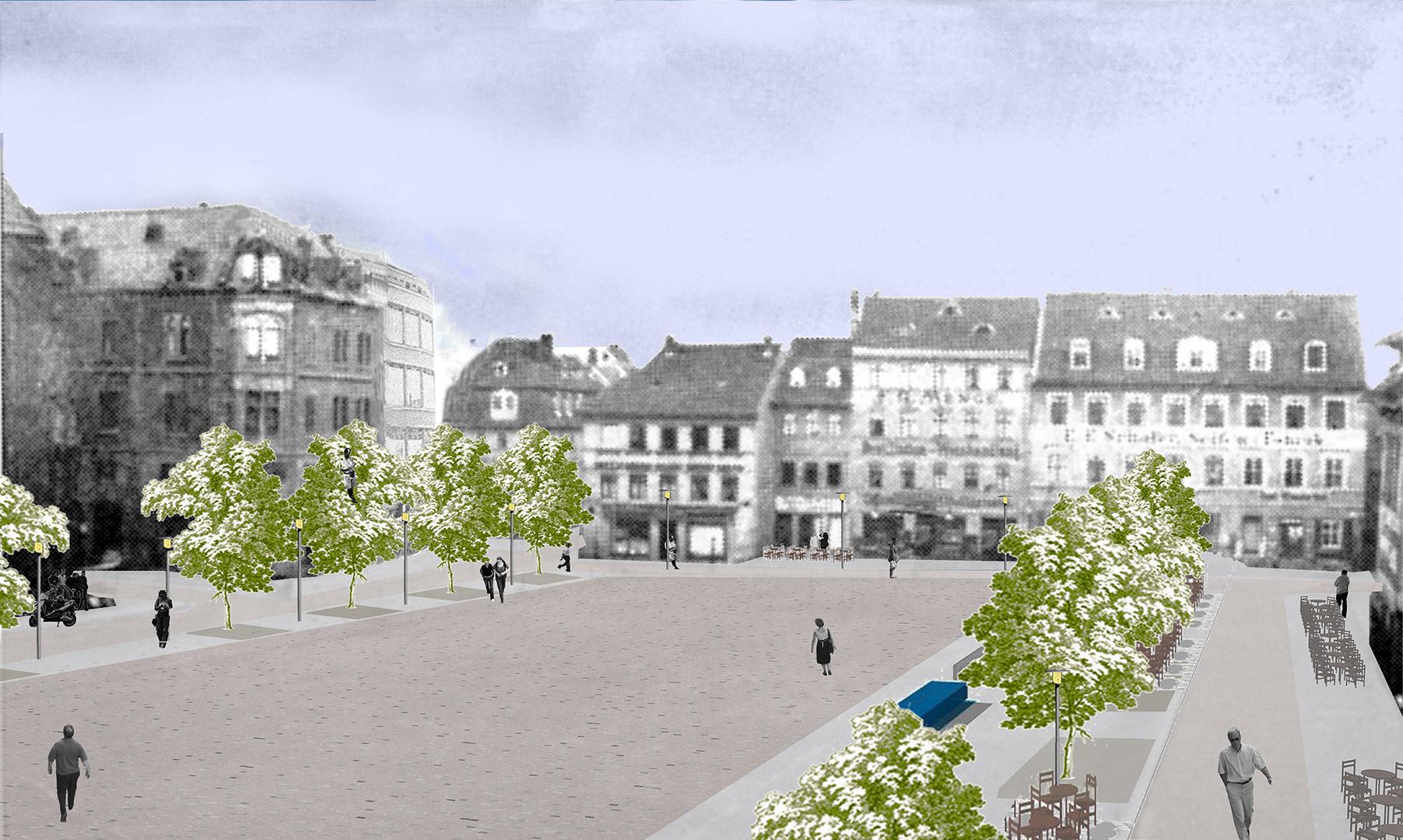 Marktplatz, Weissenfels | Sauerzapfe Architekten