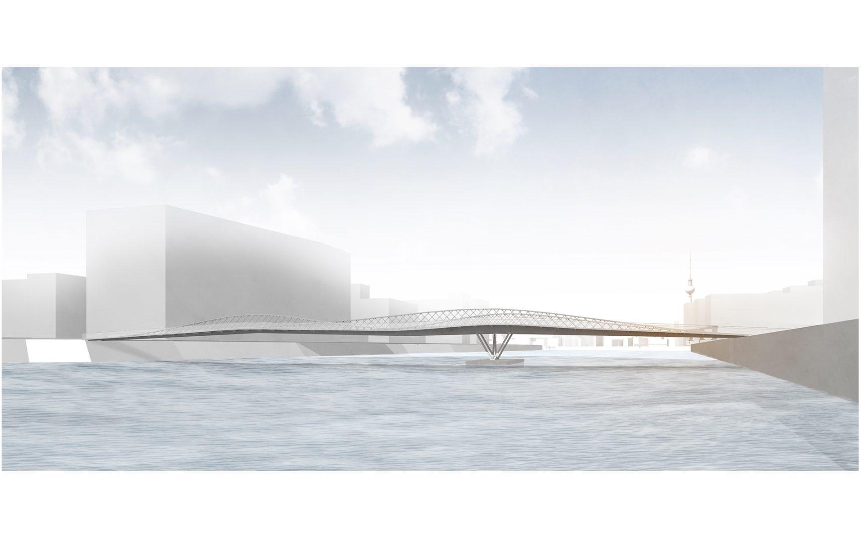 Neue Brommybrücke, Berlin | Sauerzapfe Architekten