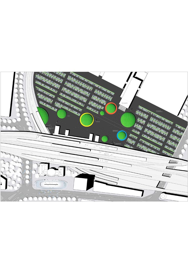 Ottoplatz und Messeplatz, Köln | Sauerzapfe Architekten