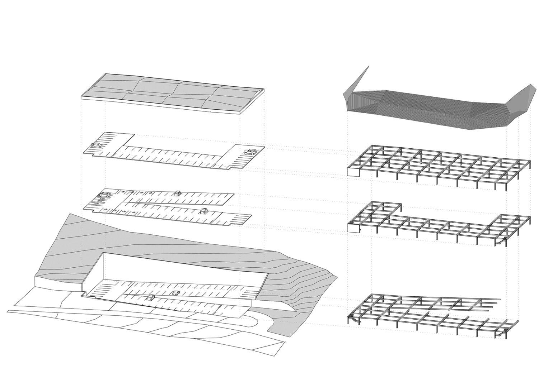 Parkhaus LGS, Freyung | Sauerzapfe Architekten