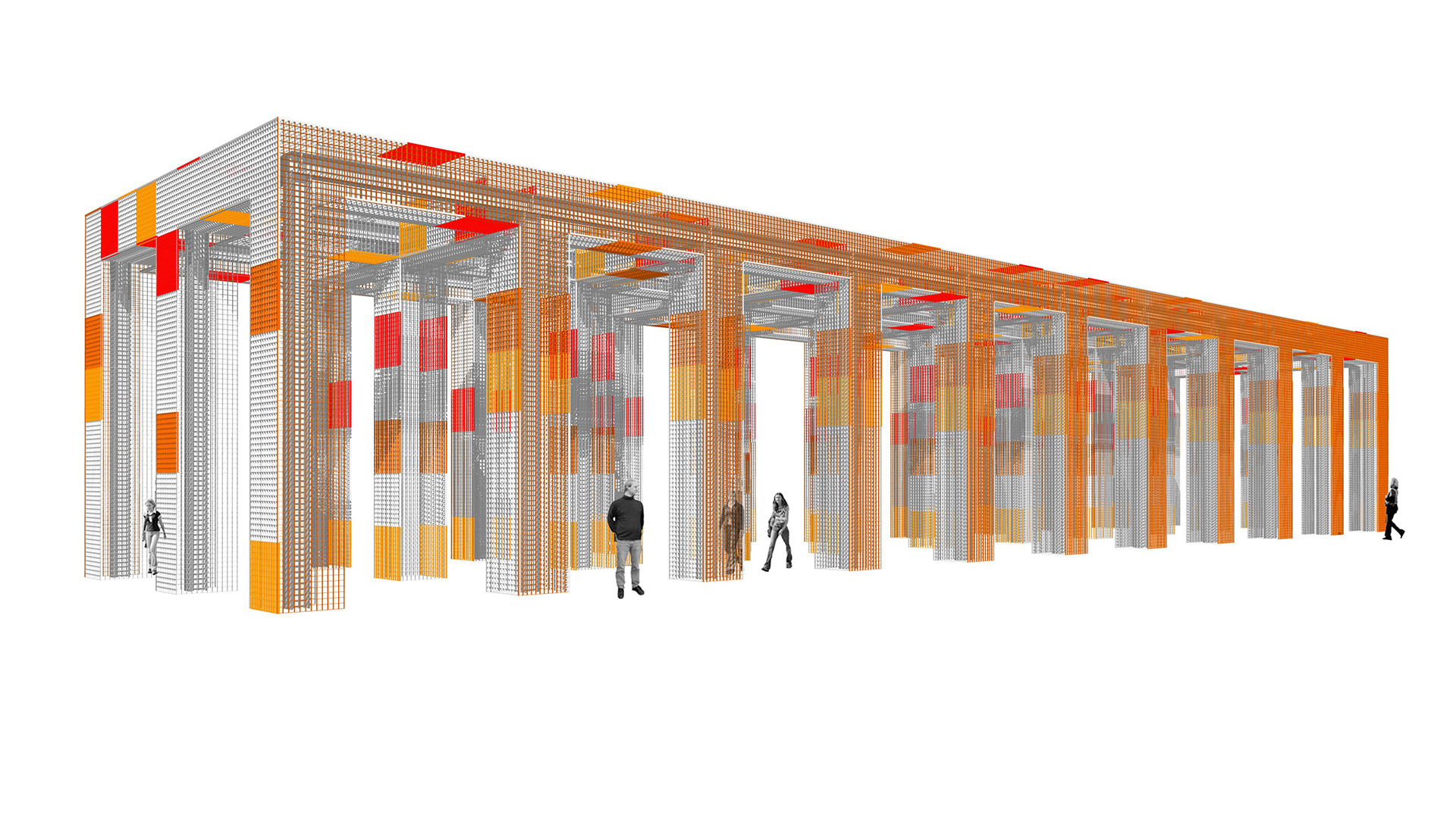 Pergola Kätchelchpark, Frankfurt | Sauerzapfe Architekten