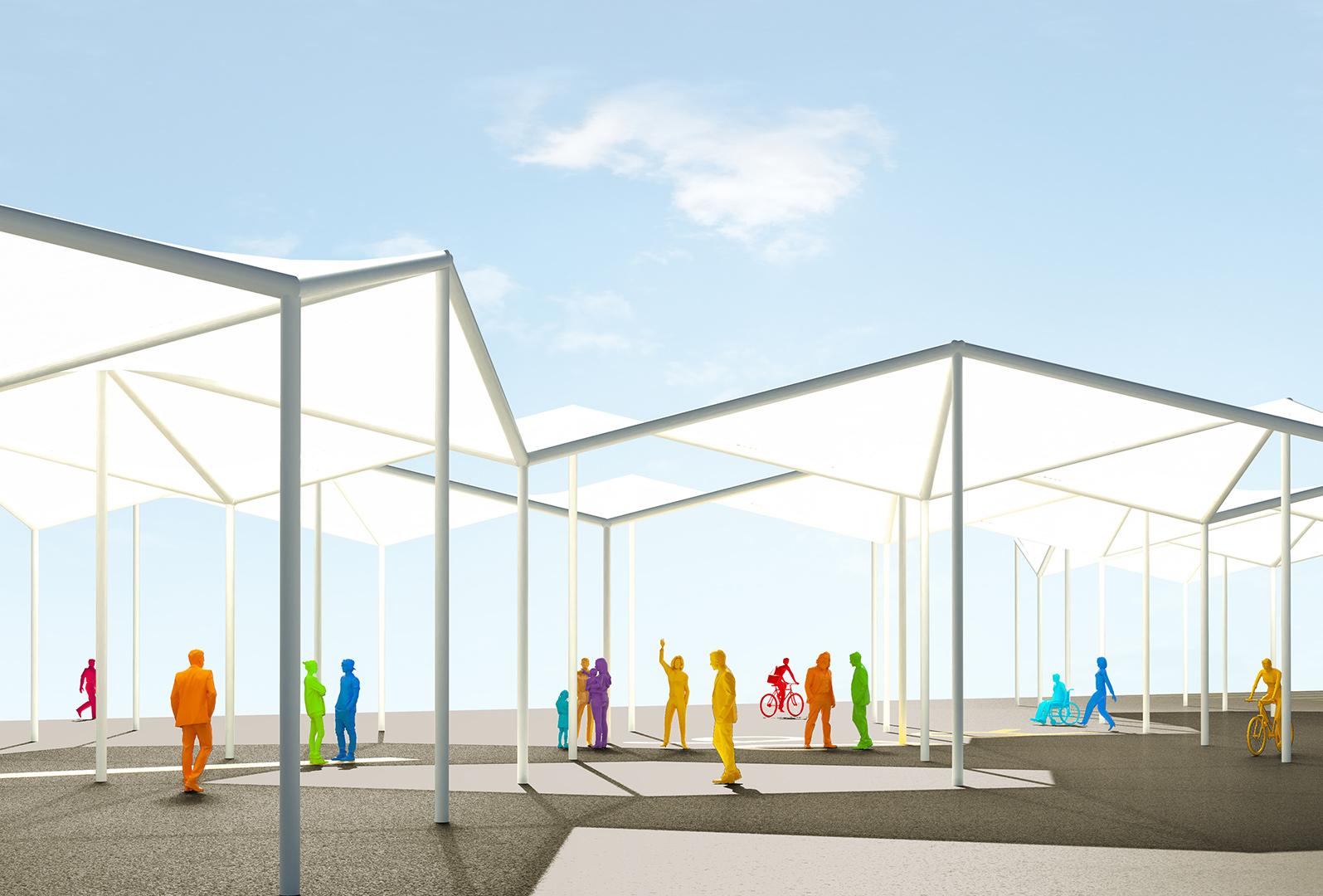 Schattendächer TXL | Sauerzapfe Architekten