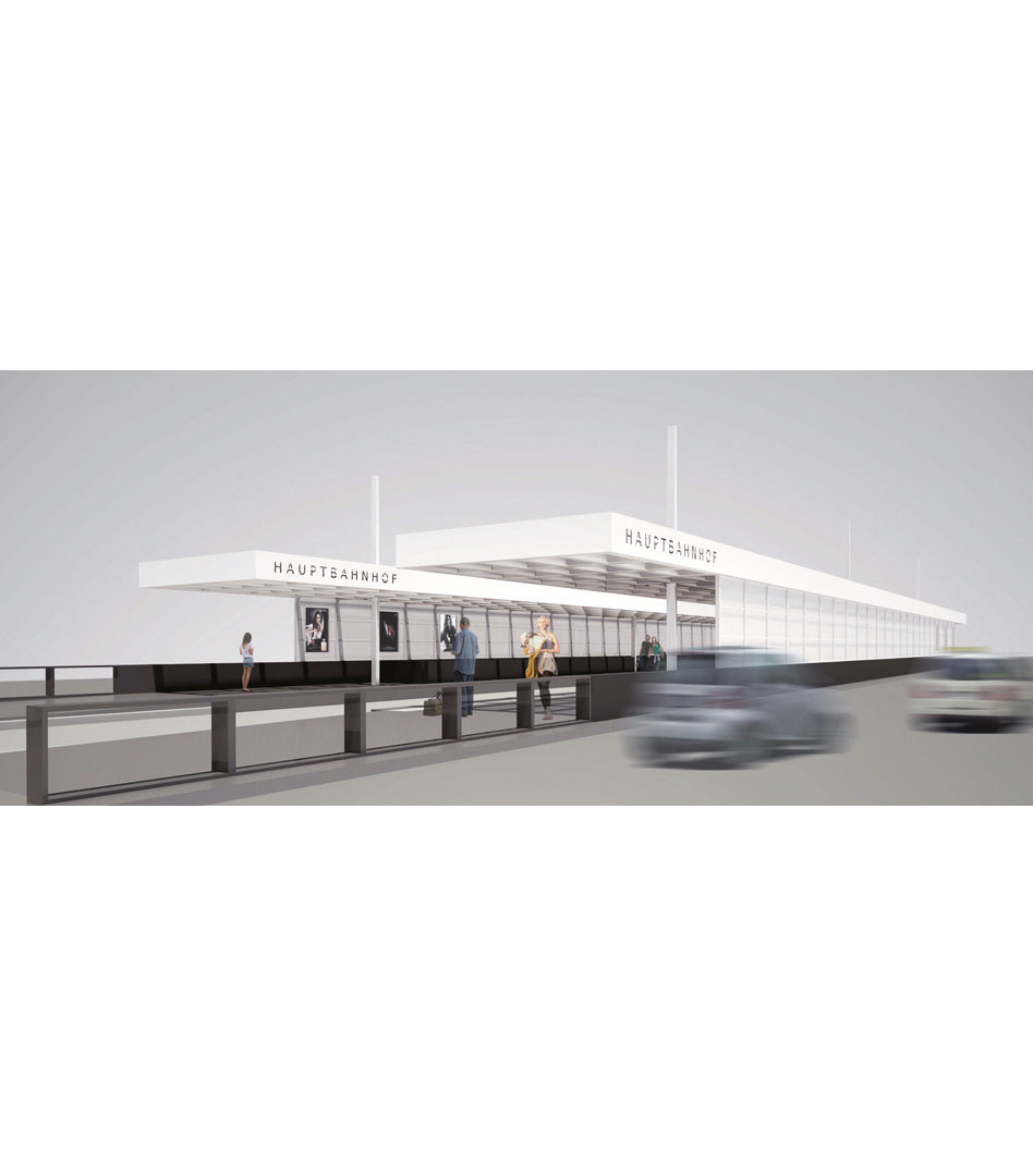 Strassenbahnhaltestelle Hauptbahnhof, Berlin | Sauerzapfe Architekten
