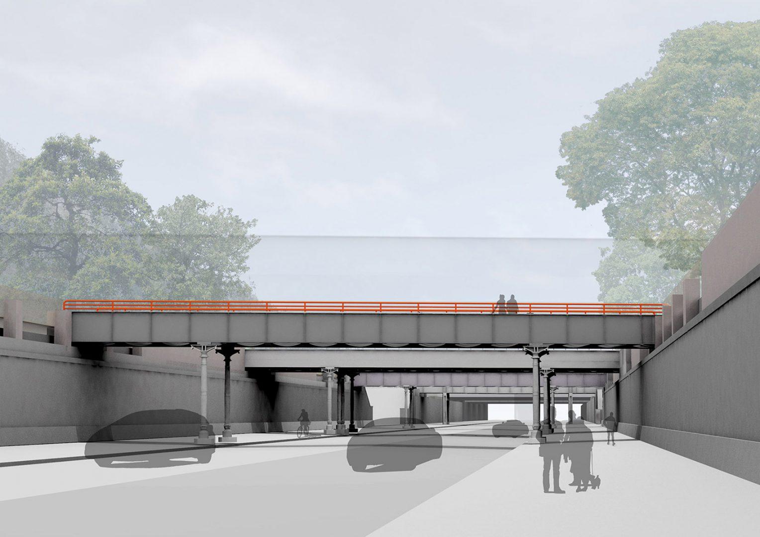 Yorkbrücken Rendering, Berlin | Sauerzapfe Architekten