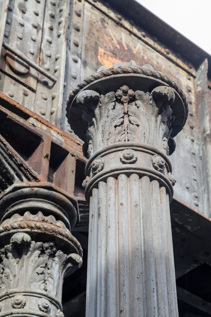 Yorkbrücken Säulen Bestand, Berlin | Sauerzapfe Architekten